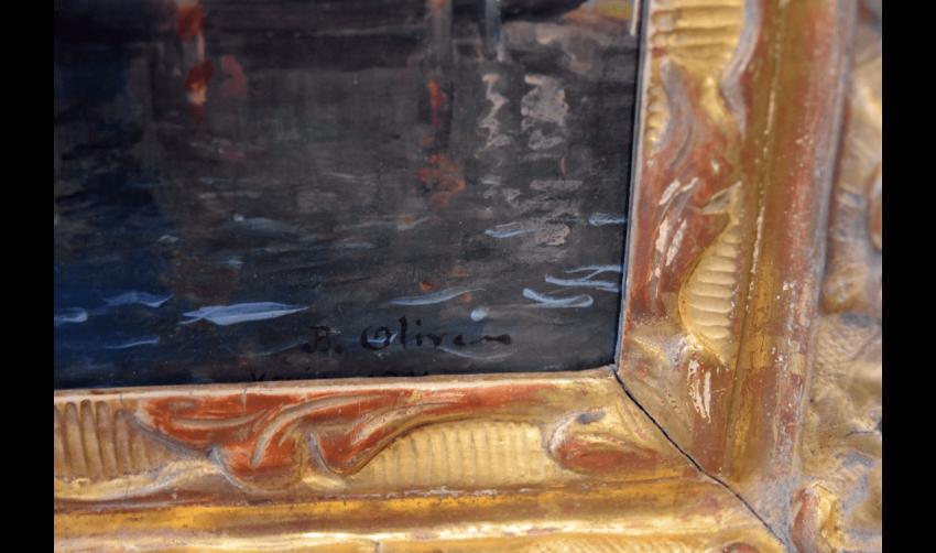 JEAN-BAPTISTE OLIVE (MARSEILLE, 1848 - MARSEILLE 1936)