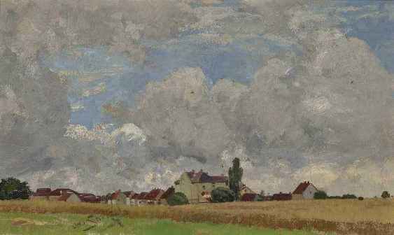 Landscape with view of a village - photo 1