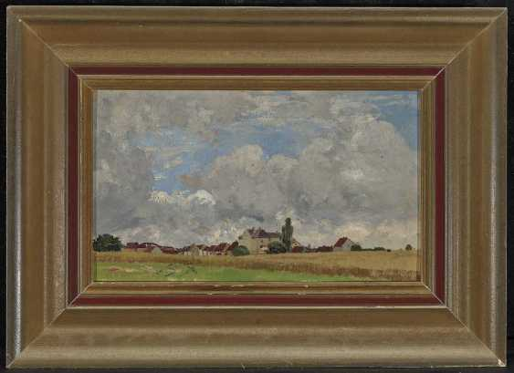 Landscape with view of a village - photo 2
