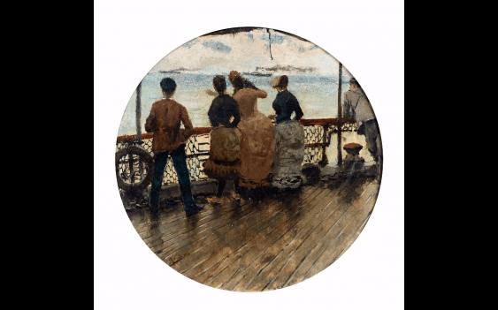 ALFRED STEVENS (BRUXELLES 1823 - PARIS 1906)