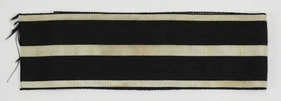 Prussia: Red Eagle Order Of The Crown Order, 2. Class, 2-times black and 3 times white-striped -commander Band. - photo 1