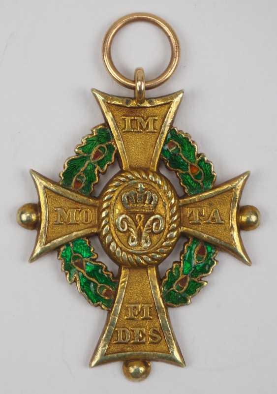 Braunschweig: Hausorden d'Henri le Lion, Croix de 1. Classe. - photo 1