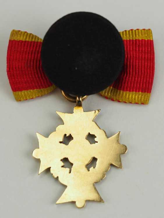 Braunschweig: Hausorden d'Henri le Lion, Croix de 1. Classe Miniature. - photo 3