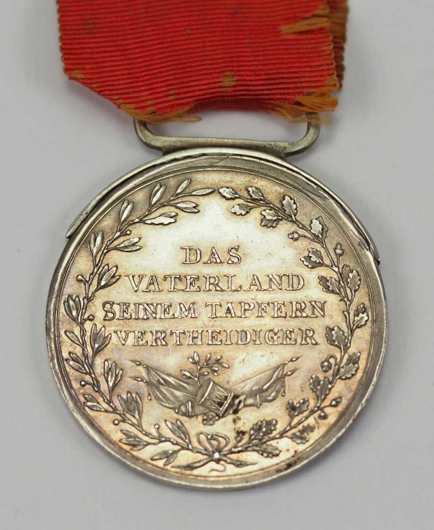 Francfort: Médaille d'honneur du grand-Duc Carl Theodor von Dalberg, en l'Honneur de la Médaille, en Argent, 2. Type. - photo 3