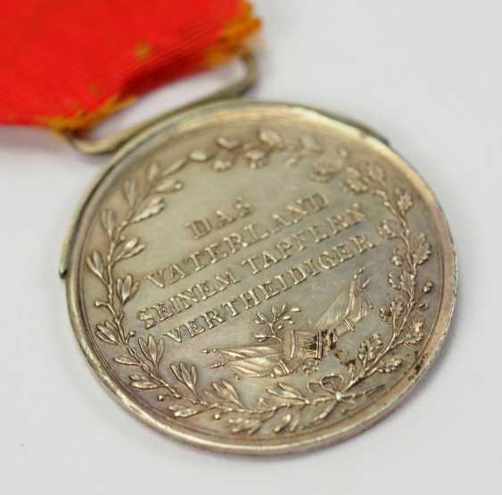Francfort: Médaille d'honneur du grand-Duc Carl Theodor von Dalberg, en l'Honneur de la Médaille, en Argent, 2. Type. - photo 4