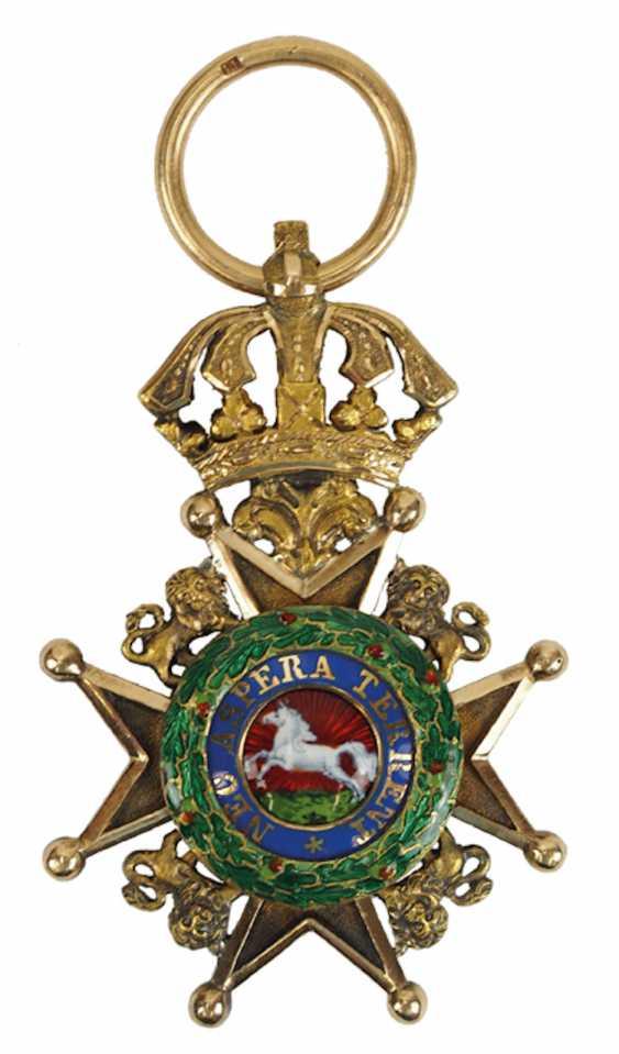 Hanovre: Guelphen Ordre, Croix De Chevalier. - photo 1