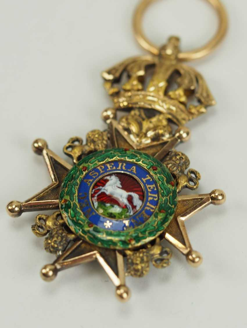 Hanovre: Guelphen Ordre, Croix De Chevalier. - photo 2