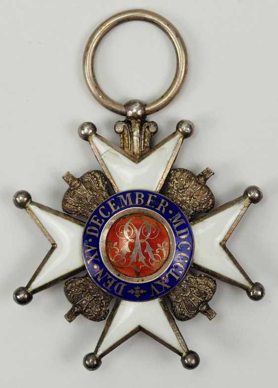 Hanovre: Ernst-August-Ordre, Croix De Chevalier 2. Classe. - photo 3