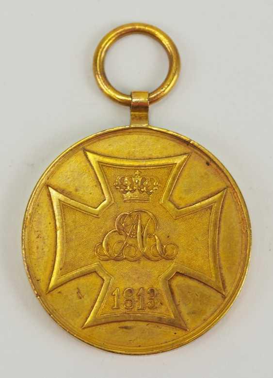 Hanovre: Kriegsdenkmünze pour les Volontaires de 1813. - photo 1