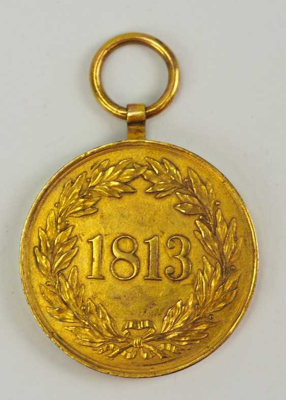 Hanovre: Kriegsdenkmünze pour les Volontaires de 1813. - photo 3