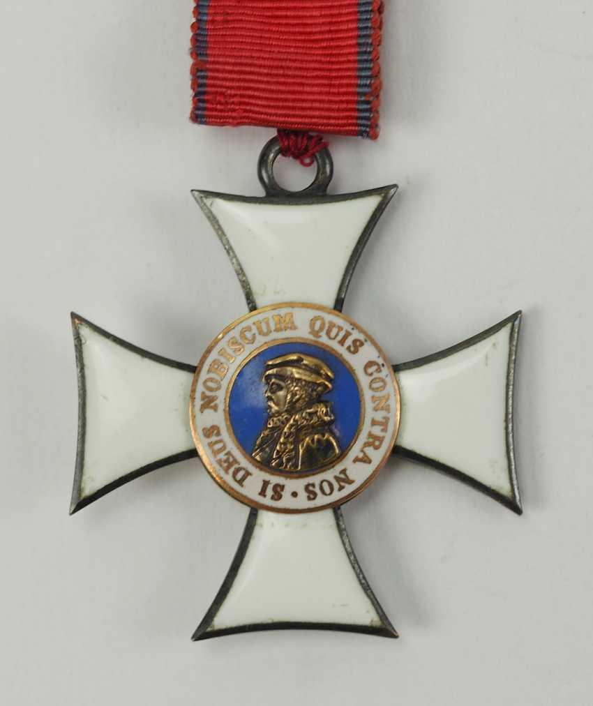 Hesse: grand-ducal Ordre de Philippe le Généreux, 2. Le Modèle, La Croix De Chevalier 2. Classe. - photo 2