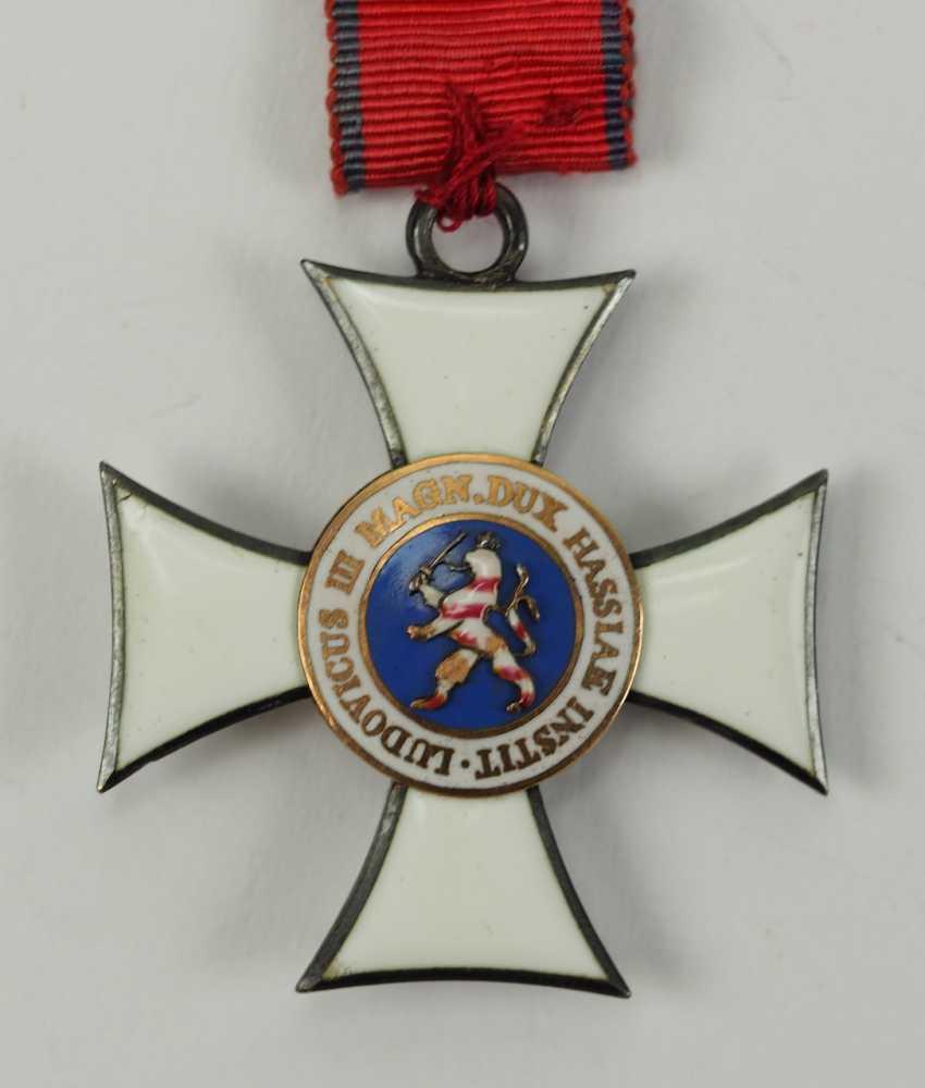 Hesse: grand-ducal Ordre de Philippe le Généreux, 2. Le Modèle, La Croix De Chevalier 2. Classe. - photo 1