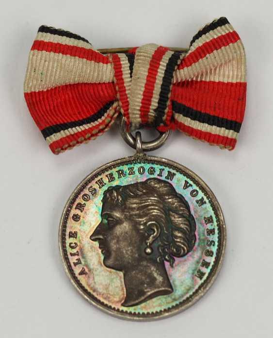 Hesse: Alice de la Médaille de l'Association Allemande des Gouvernantes. - photo 1