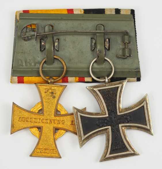 Lippe-Detmold: Ordenschnalle d'une Guerre mondiale des anciens combattants. - photo 2