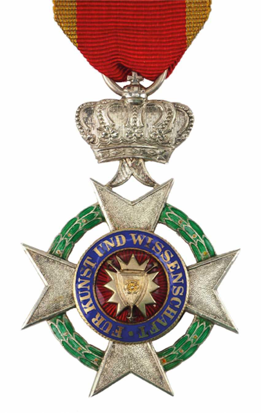 Schaumburg-Lippe: ordre du Mérite des Arts et des Sciences, 1. Modèle (1899-1914), 1. Classe. - photo 1