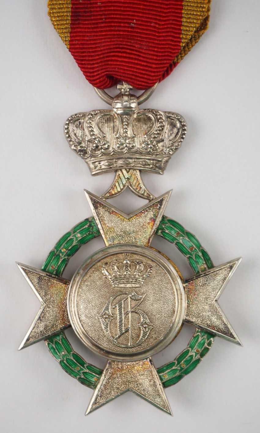 Schaumburg-Lippe: ordre du Mérite des Arts et des Sciences, 1. Modèle (1899-1914), 1. Classe. - photo 3