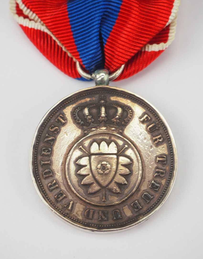 Schaumburg-Lippe: Médaille D'Argent (1885-1890). - photo 2