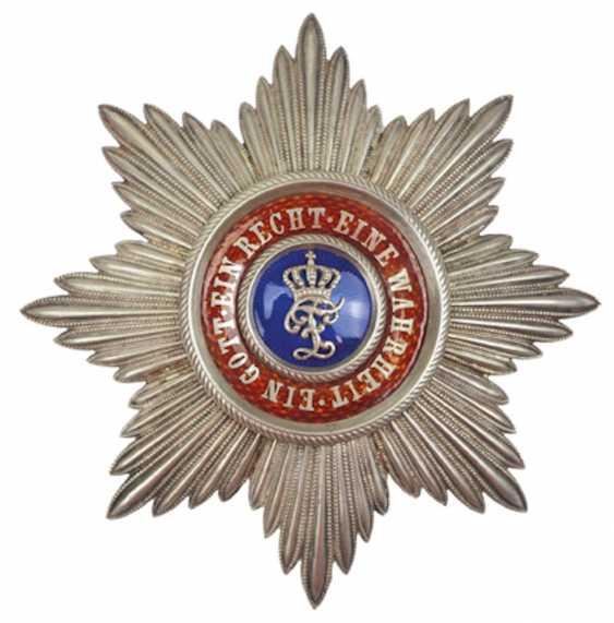 Oldenburg: Maison et de l'ordre du Mérite du Hezogs Peter Friedrich Ludwig, Étoile de grand-Croix. - photo 1