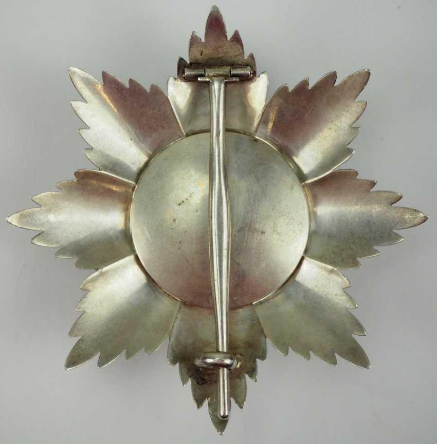 Oldenburg: Maison et de l'ordre du Mérite du Hezogs Peter Friedrich Ludwig, Étoile de grand-Croix. - photo 3
