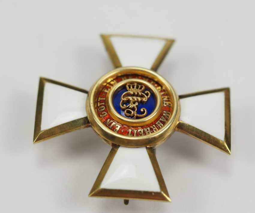 Oldenburg: Maison - et le Mérite du Duc Peter Friedrich Ludwig, Offizierskreuz. - photo 2
