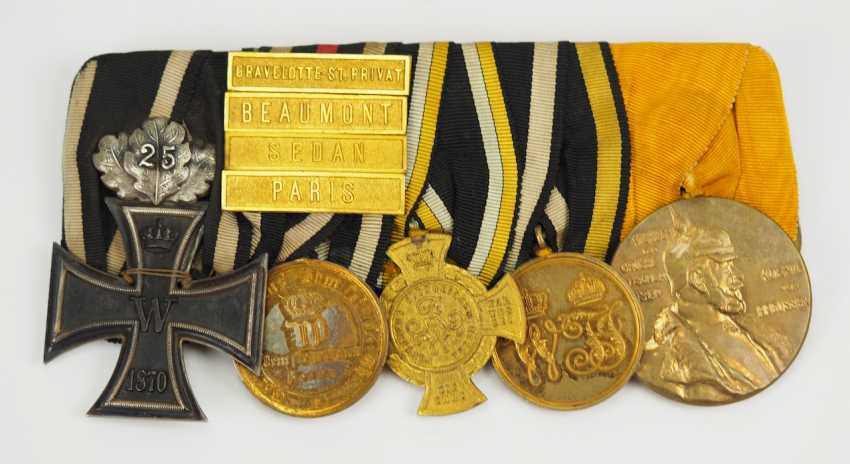 Prusse: Grande Ordenschnalle d'un Vétéran de la Guerre Franco-allemande. - photo 1