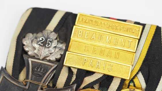 Prusse: Grande Ordenschnalle d'un Vétéran de la Guerre Franco-allemande. - photo 3