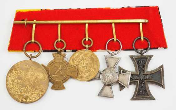 Prusse: Ordenschnalle d'un Vétéran de la Guerre Franco-allemande. - photo 2