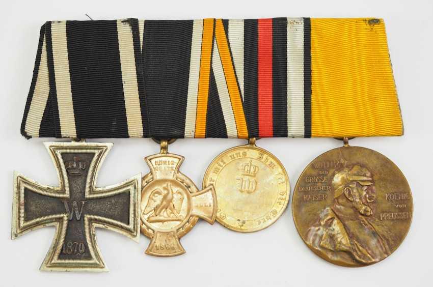 Prusse: Ordenschnalle d'un Vétéran de la Guerre Franco-allemande. - photo 1