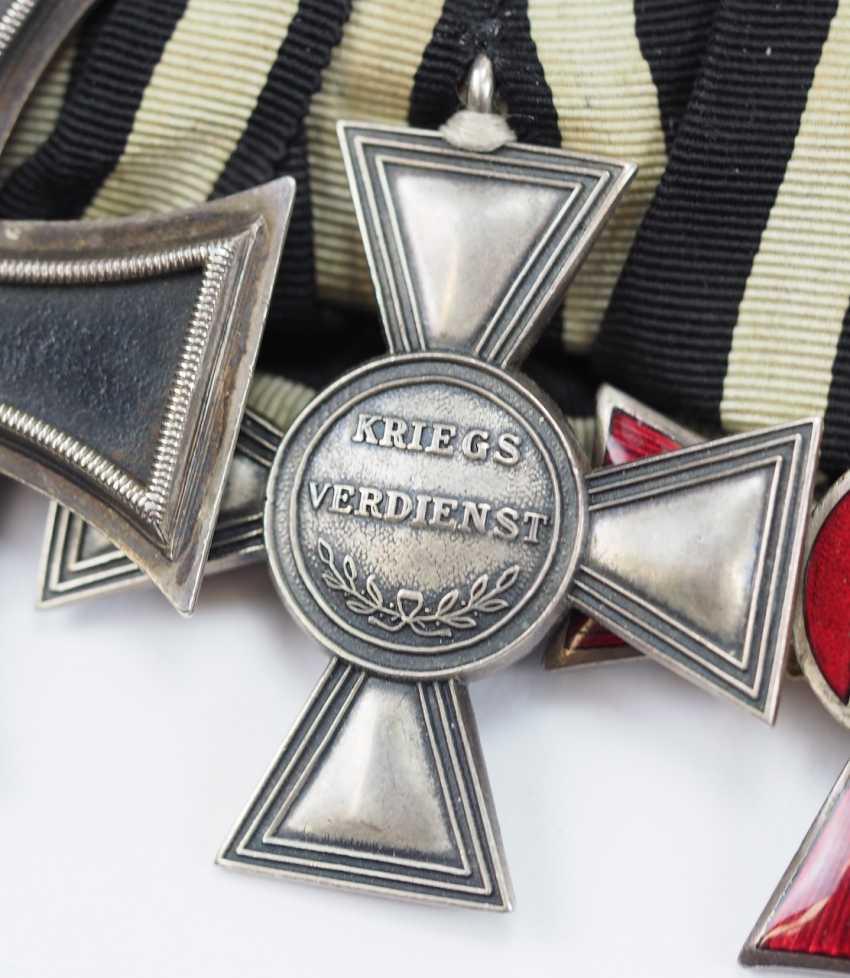 Prusse: Ordenschnalle un hochdekorierten sous-officier de la Force de protection pour le sud-Ouest africain Allemand avec 5 Récompenses. - photo 2