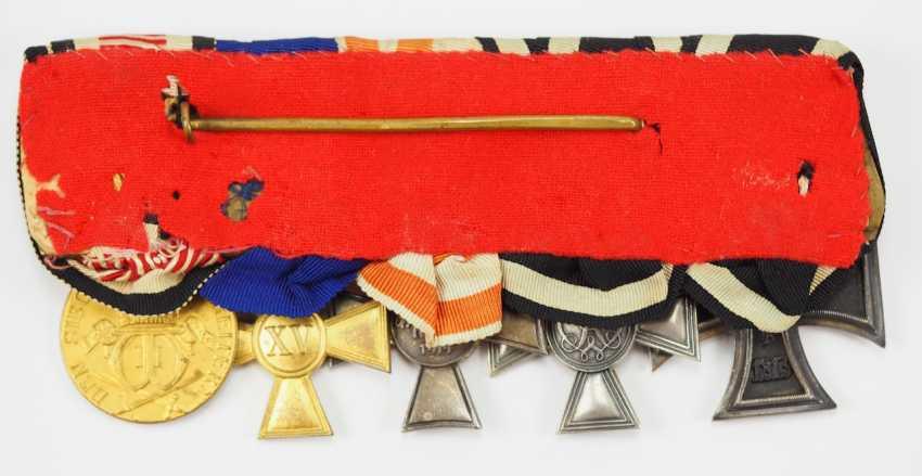 Prusse: Ordenschnalle un hochdekorierten sous-officier de la Force de protection pour le sud-Ouest africain Allemand avec 5 Récompenses. - photo 5