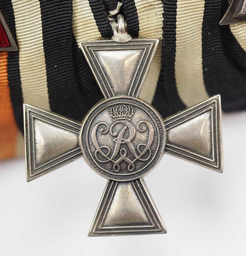 Prusse: Ordenschnalle un hochdekorierten sous-officier de la Force de protection pour le sud-Ouest africain Allemand avec 5 Récompenses. - photo 6