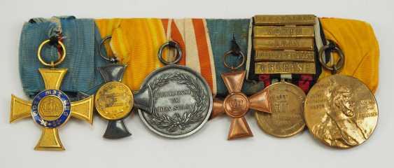 Prusse: Grande Ordenschnalle de Fonctionnaire avec 6 Récompenses. - photo 1