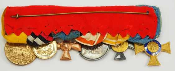 Prusse: Grande Ordenschnalle de Fonctionnaire avec 6 Récompenses. - photo 2