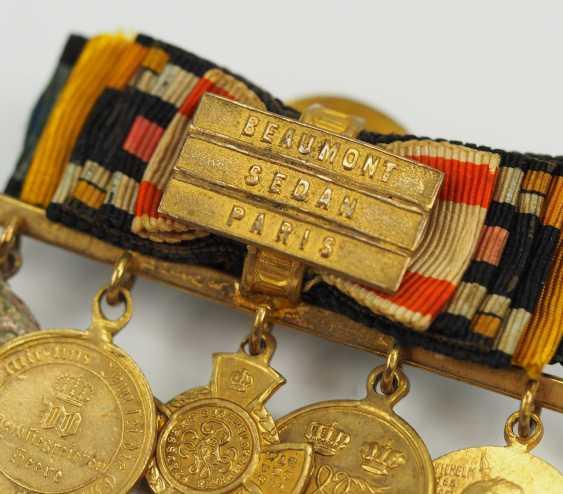 Prusse: Miniaturenbarett avec 7 Récompenses d'un langgedienten Fonctionnaires de l'état. - photo 3