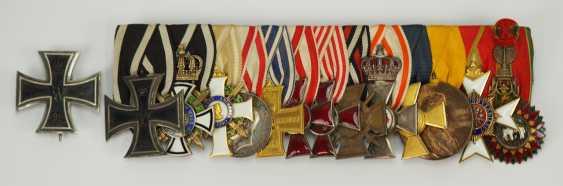 Prusse: Ordenschnalle de Lieutenant-colonel et Commandant du Pionnier du Bataillon N ° 211. - photo 1