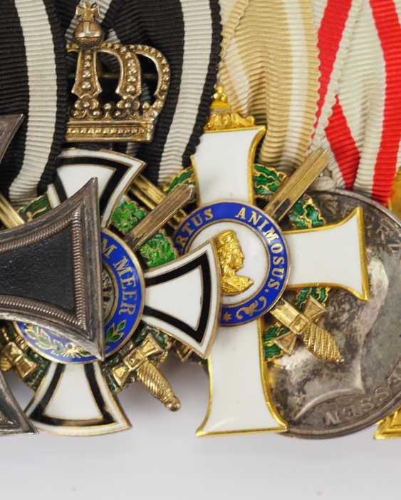 Prusse: Ordenschnalle de Lieutenant-colonel et Commandant du Pionnier du Bataillon N ° 211. - photo 2