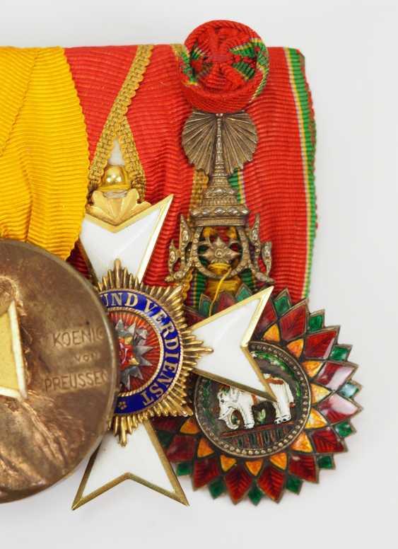 Prusse: Ordenschnalle de Lieutenant-colonel et Commandant du Pionnier du Bataillon N ° 211. - photo 3