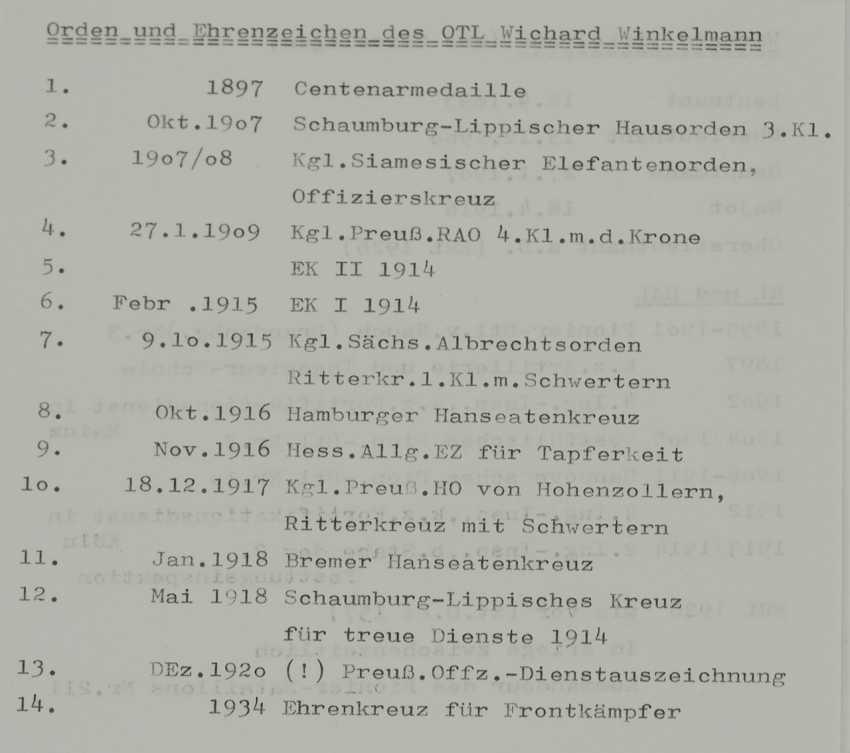 Prusse: Ordenschnalle de Lieutenant-colonel et Commandant du Pionnier du Bataillon N ° 211. - photo 5