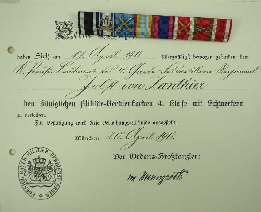 La prusse: la Succession d'un Lieutenant de 4. Garde Champ D'Artillerie, Régiment / Chef Est. - photo 3