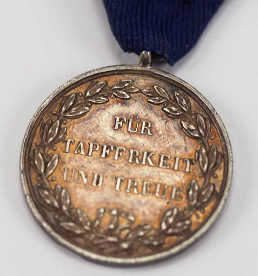 Württemberg: military merit medal, Karl (1864-1891), silver. - photo 4