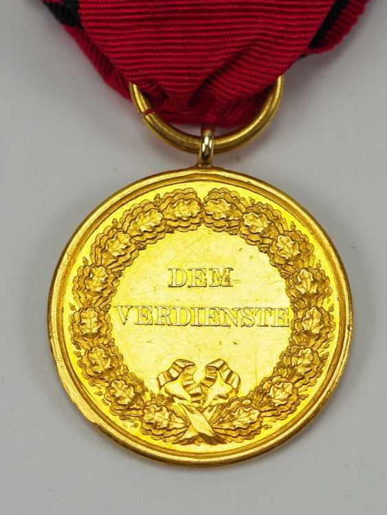 Württemberg: civil order of merit, Karl (1864-1891), in Gold. - photo 3