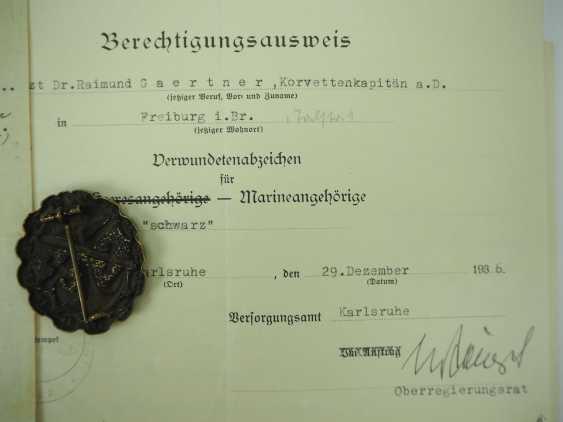 Estate of a Korvettenkapitän z. V., S. M. S. Württemberg / S. M. S. Friedrich der große. - photo 2
