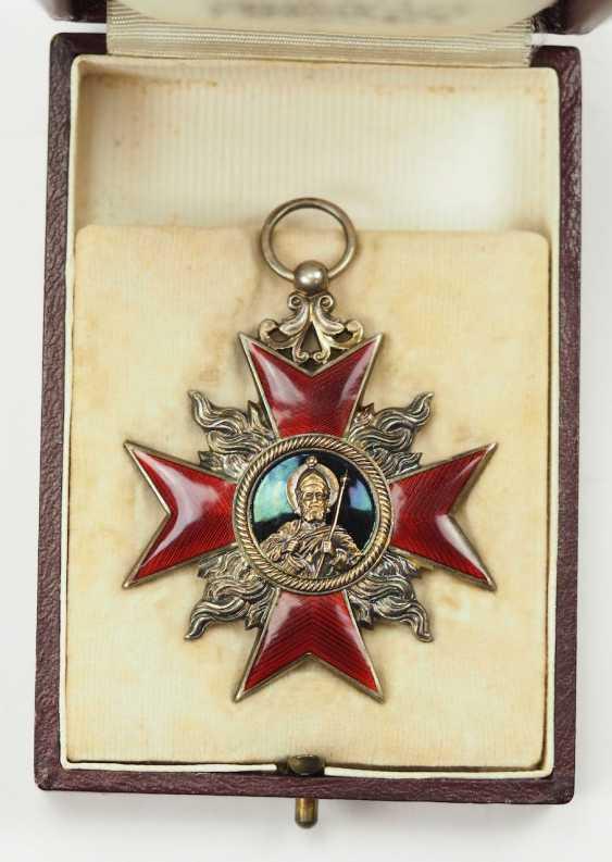 Weimar Republic: German Firefighter Honor Cross, 1. Class, in a case. - photo 2
