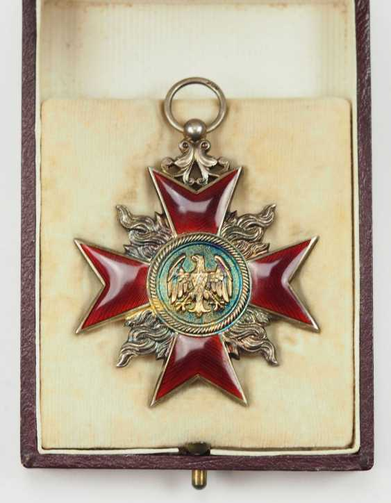 Weimar Republic: German Firefighter Honor Cross, 1. Class, in a case. - photo 3