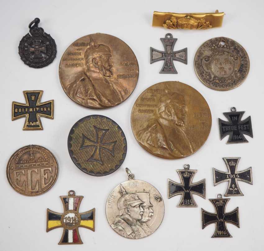 German Empire: Lot of Patriotic badge. - photo 1