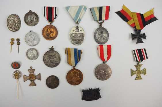 German Empire: Lot Regimental Badges. - photo 1