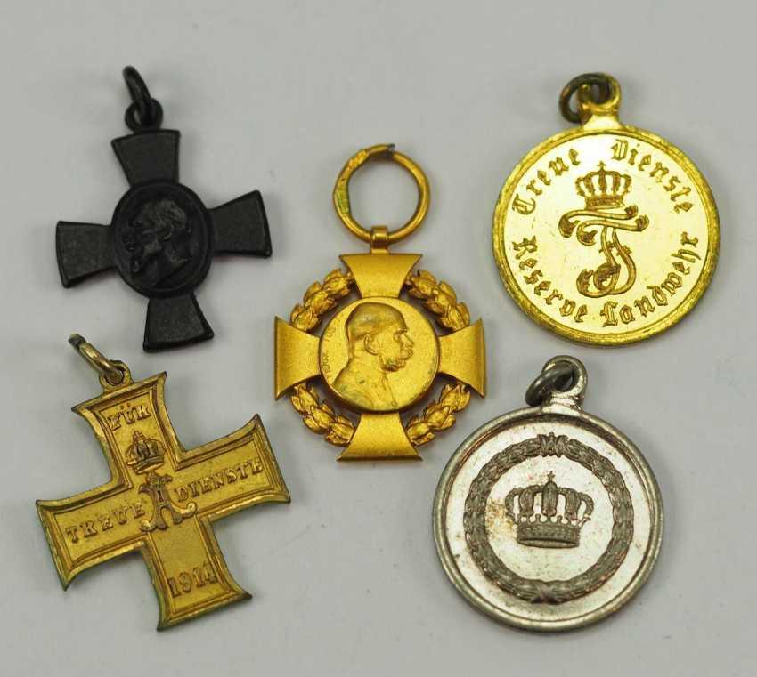 German Empire: Lot of 5 Miniatures. - photo 1