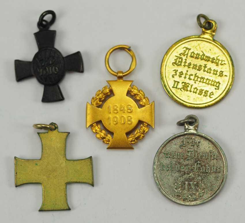 German Empire: Lot of 5 Miniatures. - photo 2