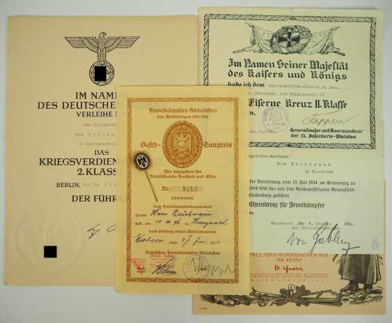 Free corps: estate of the front fighter Brückmann. - photo 1