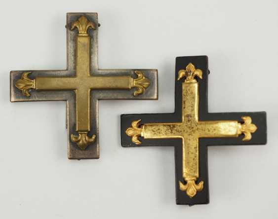 Free corps: Lot of 2 Baltic cross, 1. Class. - photo 1